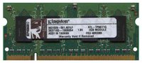 Kingston KTL-TP667/1G CGW 1GB 200p PC2-5300 CL5 8c 64x16 DDR2-667 2Rx16 1.8V SODIMM RFB