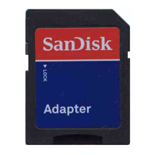 SanDisk TF-ADAPTER CPM 0MB SD to Micro SD Adapter Blue Label