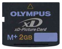 Olympus MXD2GMP CHO 2GB 18p xD Picture Card Type M Plus Bulk RFB