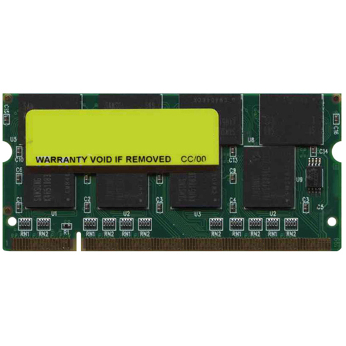 Samsung/3rd MT1GS16D648-27-SP0U 1GB 200p PC2700 CL2.5 16c 64x8 DDR333 2.5V SODIMM PCB B6N824