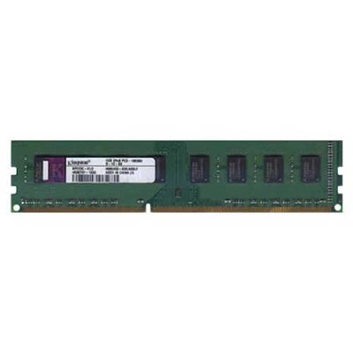 Elpida/Kingston KP223C-ELD 2GB 240p PC3-10600 CL9 16c 128x8 DDR3-1333 2Rx8 1.5V UDIMM