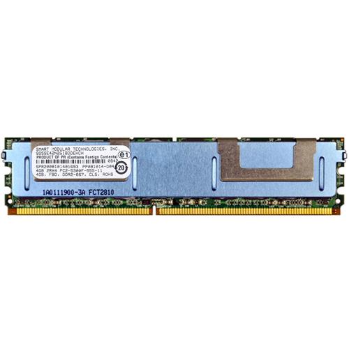4GB 240p PC2-5300 CL5 36c 256x4 DDR2-667 2Rx4 1.8V ECC FBDIMM