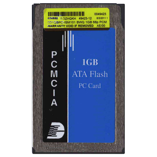 Envoy Data ED1GBPC-ISM101 1GB 68p PCMCIA ATA Flash Card Bulk