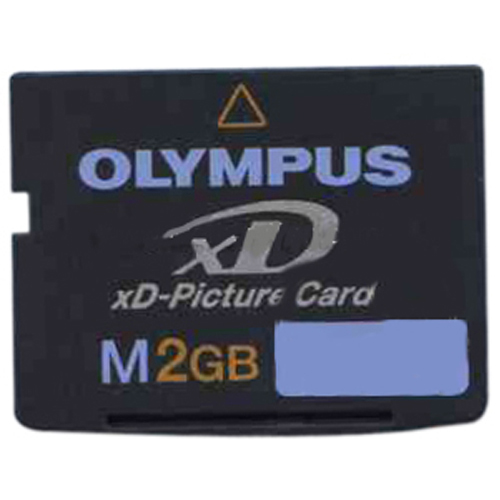 Olympus MXD2GM3 2GB 18p xD Picture Card Type M Bulk