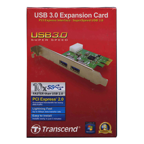0MB PCI express USB 3.0 High-Speed Adapter