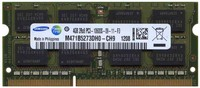 Samsung M471B5273DH0-CH9 4GB 204p PC3-10600 CL9 16c 256x8 DDR3-1333 2Rx8 1.5V SODIMM Mix label