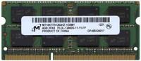 4GB 204p PC3-12800 CL11 16c 256x8 DDR3-1600 2Rx8 1.35V SODIMM NLM T10