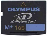 Olympus MXD1GM3 CHN 1GB 18p xD Picture Card Type M Plus Bulk