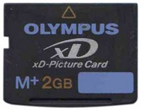 Olympus MXD2GM3 2GB 18p xD Picture Card Type M Plus Bluk