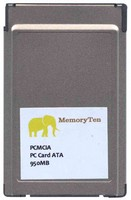 OEM ATA-950MB BWQ 950MB 68p PCMCIA ATA Flash Card Bulk