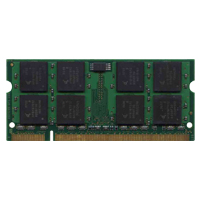 Qimonda/3rd MT1GS16T648-667-QPXX 1GB 200p PC2-5300 CL5 16c 64x8 DDR2-667 2Rx8 1.8V SODIMM RFB