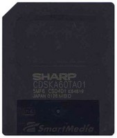 Sharp 5MF6CS0401 8MB SmartMedia SSFDC card Bulk