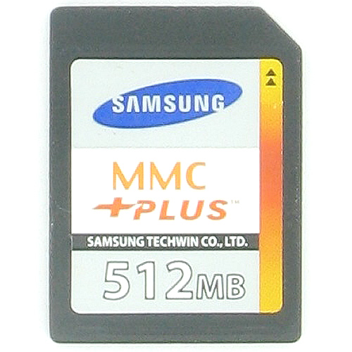 Samsung MC2GH512NMCA-SA BWB 512MB 13p MMC MultiMedia Plus Card Bulk RFB