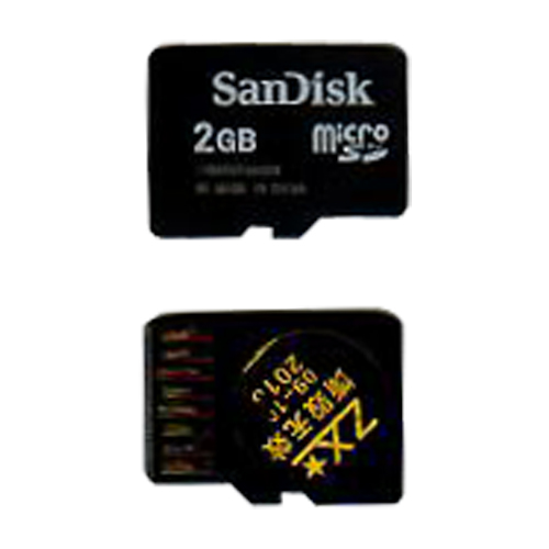 SanDisk SDSDQ-2048 2GB 8p MSD Micro Secure Digital w/o Adapter Bulk