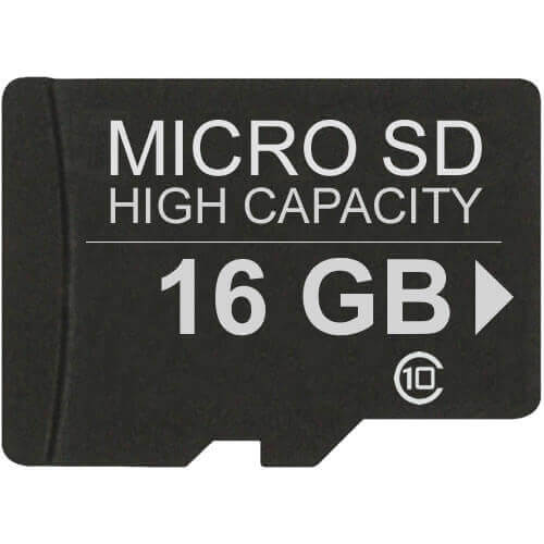 Gigaram MSDHC-16GB-10-SU 16GB 8p MSDHC Class 10 Micro Secure Digital High Capacity [ORIG+SMI]
