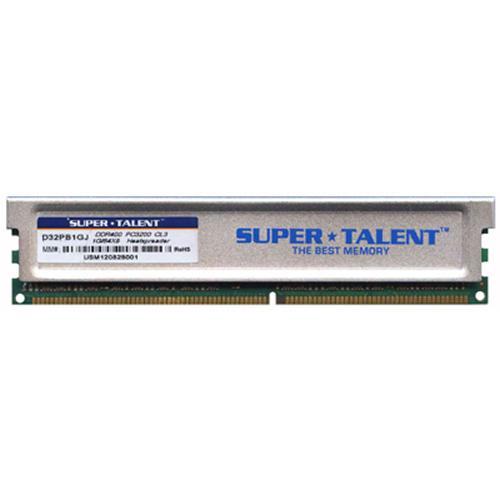 1GB 184p PC3200 CL3 16c 64x8 DDR400 2Rx8 2.5V UDIMM w/ heat sink