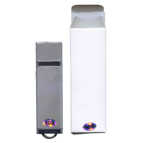 Gigaram UDF182-8GB-LI DEA 8GB USB 2.0 FlashDrive r17MB/s w4MB/s 118x Rectangular with cap Silver  in