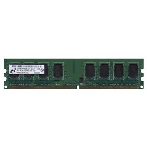2GB 240p PC2-6400 CL6 16c 128x8 DDR2-800 2Rx8 1.8V UDIMM