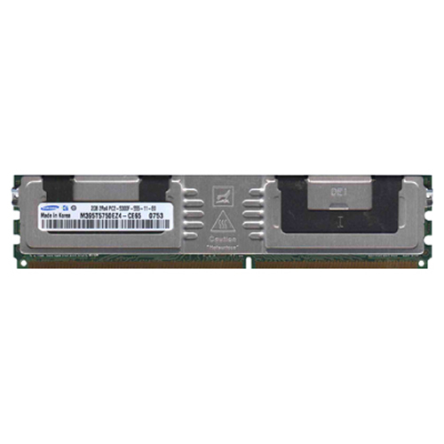 Samsung M395T5750EZ4-CE65 BTW 2GB 240p PC2-5300 CL5 36c 128x4 DDR2-667 2Rx4 1.8V ECC FBDIMM w/hp lab