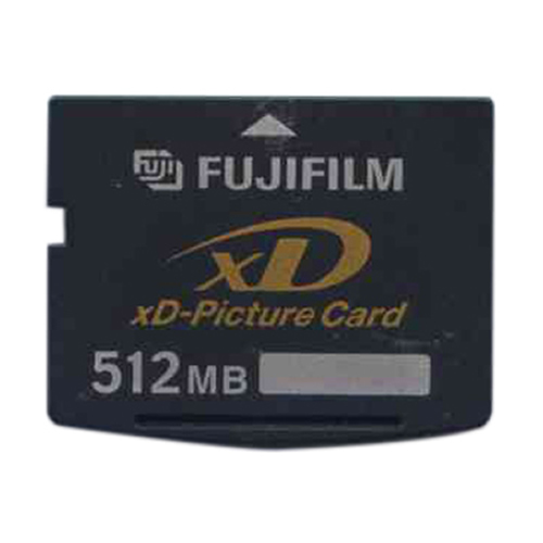 Fuji DPC-512 512MB 18p xD Picture Card Type S Bulk