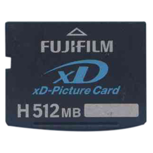 Fuji XD-512-H 512MB 18p xD Picture Card Type H Bulk