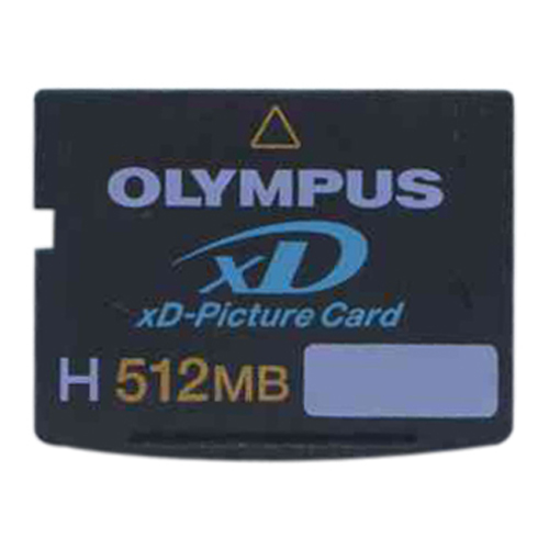 Olympus MXD512H3 BWZ 512MB 18p xD Picture Card Type H Bulk