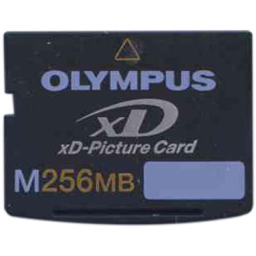 Olympus MXD256M3 BWV 256MB 18p xD Picture Card Type M Bul...