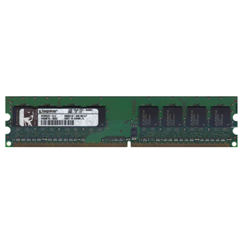Elpida/Kingston KCM633-ELC 1GB 240p PC2-6400 CL6 8c 128x8 DDR2-800 1Rx8 1.8V UDIMM  RFB