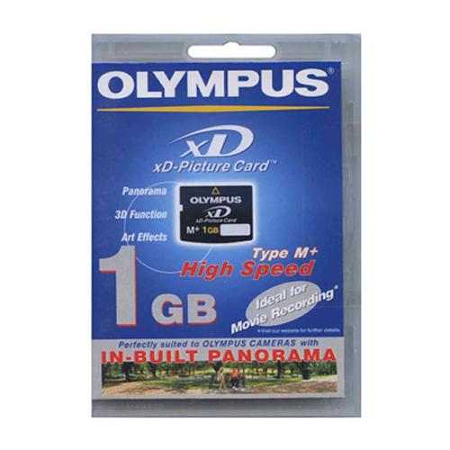 Olympus M-XD1GMP 1GB 18p xD Picture Card Type M Plus Retail