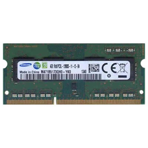 4GB 204p PC3-12800 CL11 8c 512x8 DDR3-1600 1Rx8 1.35V SODIMM RFB