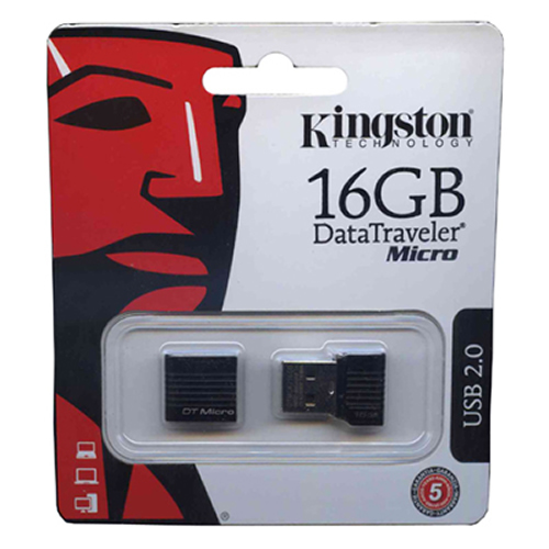 Kingston DTMCK/16GB 16GB USB 2.0 r30MB/s w25MB/s Pendrive Data Traveler Micro Retail