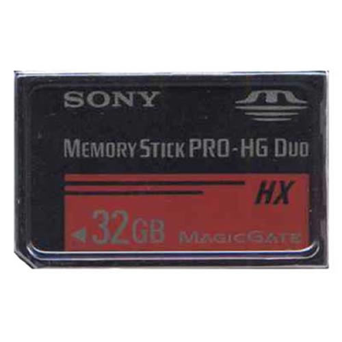 SONY MS-HX32B/T1 32GB 10p Memory Stick Pro-HG Duo HX 50MB/s w/o Adapter Retail
