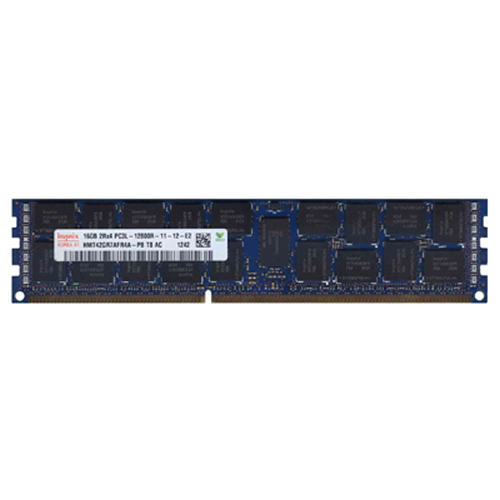 Hynix HMT42GR7AFR4A-PB 16GB 240p PC3-12800 CL11 36c 1024x4 DDR3-1600 2Rx4 1.35V ECC RDIMM W/ Oracle