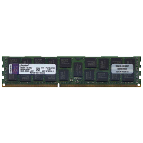 Elpida/Kingston KTH-PL313LV/16G 16GB 240p PC3-10600 CL9 36c 1024x4 DDR3-1333 2Rx4 1.35V ECC RDIMM  R