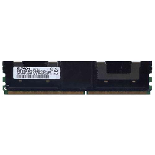 8GB 240p PC2-5300 CL5 36c 512x4 DDR2-667 2Rx4 1.8V ECC FBDIMM  RFB