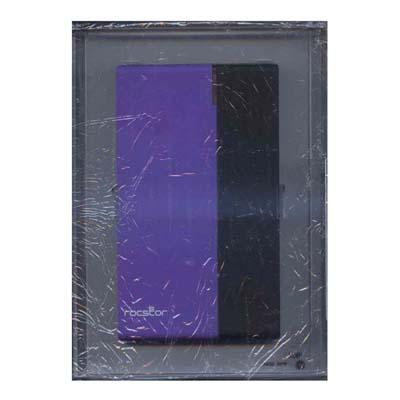 HAJ 500GB External Portable 2.5in USB2.0/FW400,800 Rocport ID9 Purple Retail box w/carrying case, In