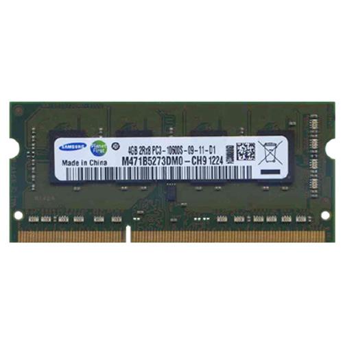 4GB 204p PC3-10600 CL9 8c 2x256x8 2Rx8 DDR3-1333 1.5V SODIMM   RFB