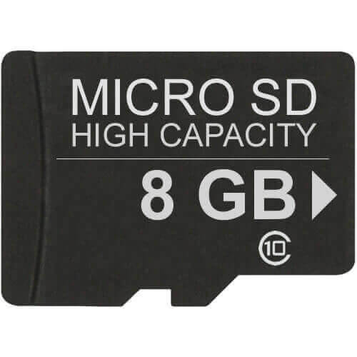 Gigaram MSDHC-8GB-10-LI 8GB 8p MSDHC r18MB/s w10MB/s Class 10 Micro Secure Digital High Capacity Car
