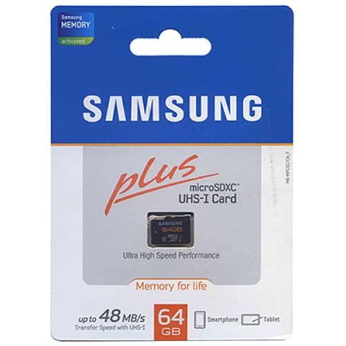 Samsung MB-MPCGC/CN CYT 64GB 8p MSDXC Class 10 UHS-1 48MB/s Micro Secure Digital Extended Capacity C