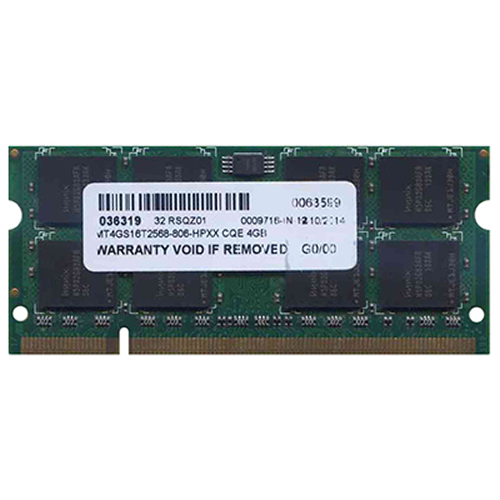 Hynix/3rd MT4GS16T2568-806-HPXX 4GB 200p PC2-6400 CL6 16c 256x8 DDR2-800 2Rx8 1.8V SODIMM