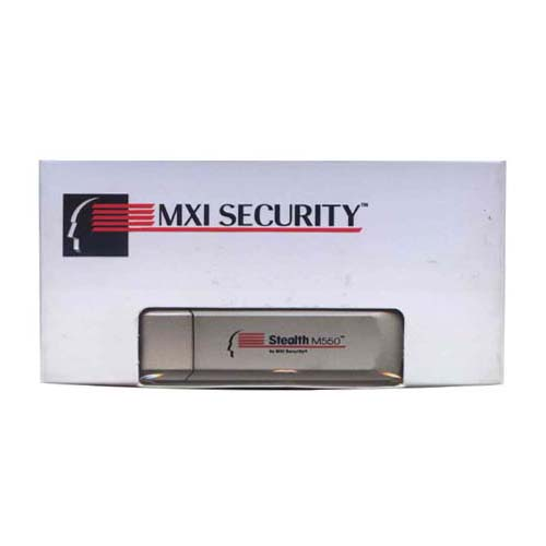 MXI SECURITY MXAB1A002G0001FIPS BTP 2GB USB 2.0 Pendrive Stealth MXI M550 Silver w/ Cap Retail Box