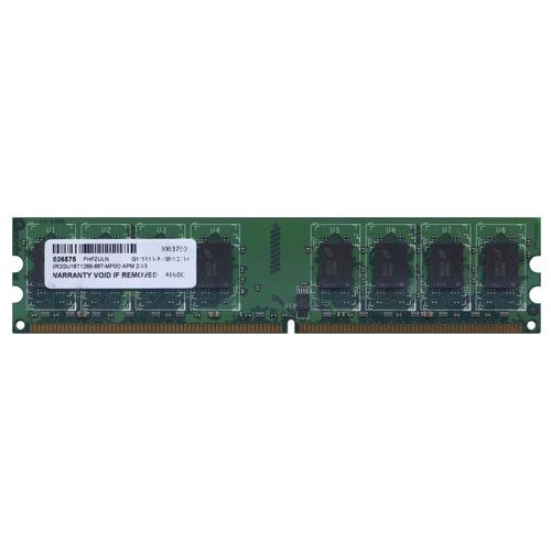 2GB 240p PC2-5300 CL5 16c 128x8 DDR2-667 2Rx8 1.8V UDIMM  NRB  PCB  KO-6908