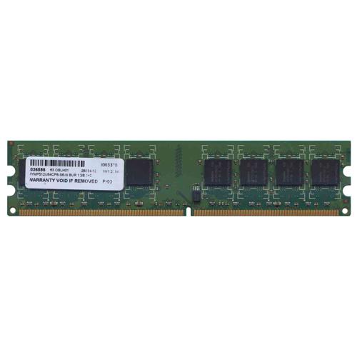 1GB 240p PC2-6400 CL6 16c 64x8 DDR2-800 2Rx8 1.8V UDIMM  RFB  No OEM label