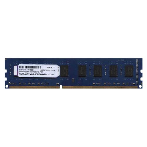 Gigaram HP655410-1600 DBB 4GB 240p PC3-12800 CL11 16c 256x8 DDR3-1600 1.35V UDIMM T100