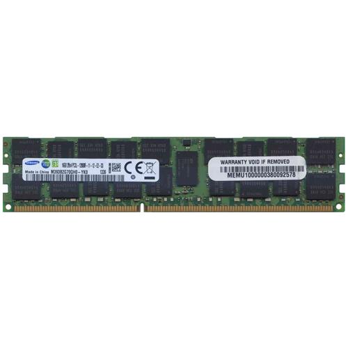 16GB 240p PC3-12800 CL11 36c 1024x4 DDR3-1600 2Rx4 1.35V ECC RDIMM