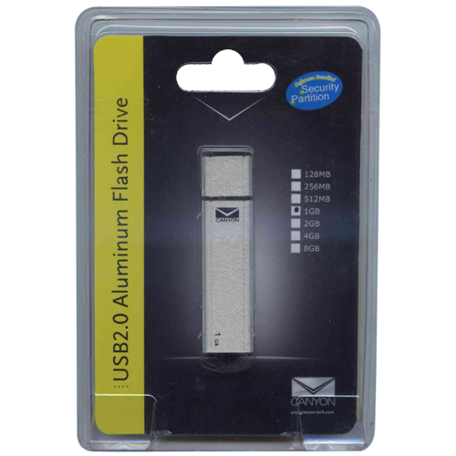 Canyon USB20EFD1024A 1GB USB 2.0 Pendrive Retail