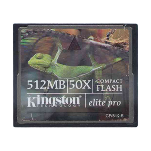 Kingston CF-512MB 512MB 50P CF CompactFlash Card Bulk