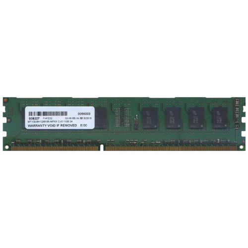 Major/3rd MT1GU8H1288-66-MPXX 1GB 240P PC3-8500 CL7 8c 128x8 DDR3-1066 1Rx8 1.5V UDIMM RFB