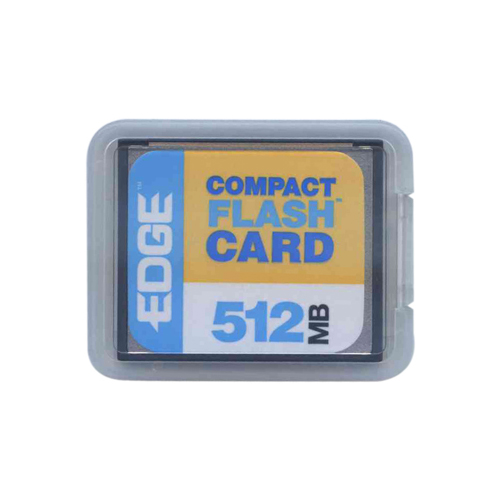 OEM PE179502 CBD 512MB 50P CF CompactFlash Card w/ Clam