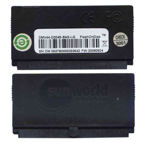 SunWorld DMV44-D2048-SM3-I-G 2GB 44p IDE Flash Vertical Module Bulk RFB